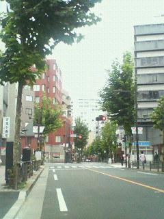 早朝の赤坂より